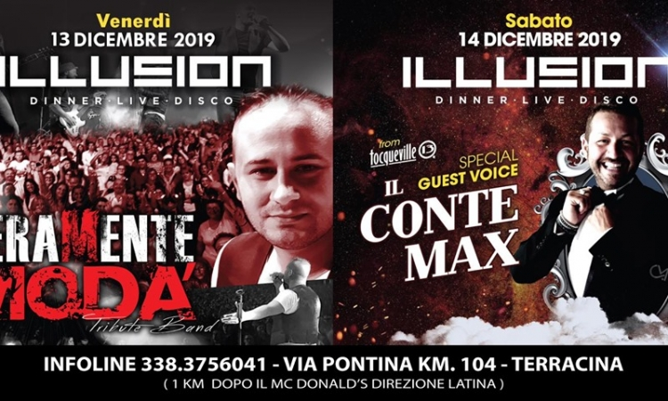 ILLUSION E I SUOI MAGICI WEEKEND