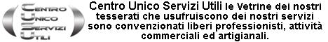 CUSU Centro Unico Servizi Utili